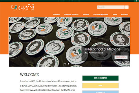 Alumni Association website