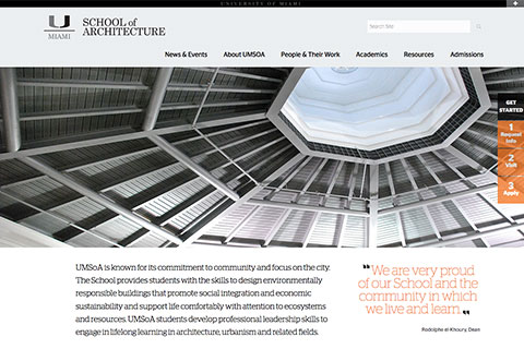 School of Architecture website