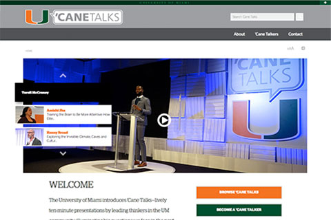 'Cane Talks website